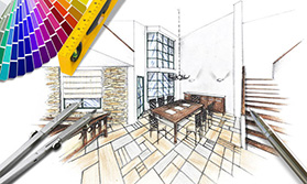 Interior Designing and Architecture